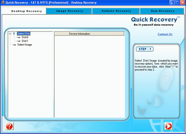Unistal Windows Data Recovery Software Screenshot