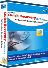 DBF Database Recovery Software